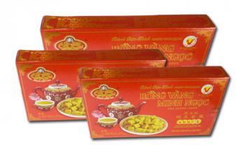 Bánh đậu xanh Rồng Vàng Minh Ngọc(KH A12 trọng lượng 240g)