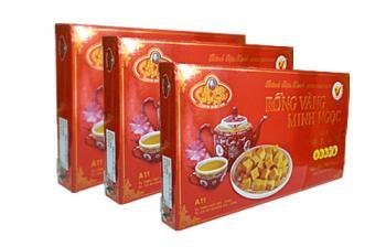 Bánh đậu xanh Rồng Vàng Minh Ngọc (KH A11 trọng lượng 370g)