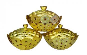 Bánh đậu xanh Rồng Vàng Minh Ngọc (Đài sen trọng lượng150gr)