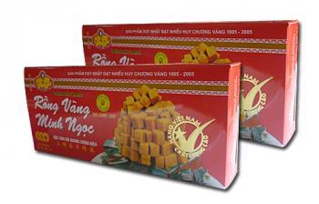 Bánh đậu xanh Rồng Vàng Minh Ngọc (KHA4 trọng lượng190gr)
