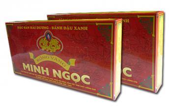 Bánh đậu xanh Rồng Vàng Minh Ngọc (KHA18 trọng lượng 240g)