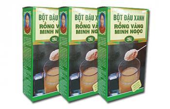 Bột đậu xanh nguyên chất không đường Minh Ngọc 500g