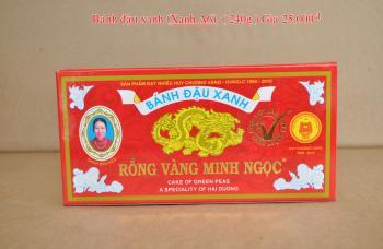 Bánh đậu xanh Rồng Vàng Minh Ngọc (KHA6 trọng lượng 240g)