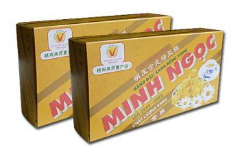 Bánh đậu xanh Rồng Vàng Minh Ngọc (KH A19 trọng lượng 200g)