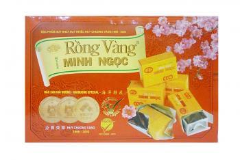 Bánh đậu xanh Rồng Vàng Minh Ngọc - KHA2 Trọng lượng 320g